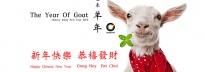 Hong Kong Lunar New Year (Goat/2015) Holiday